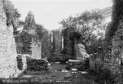Innisfallen, Chapel Ruins Interior 1897