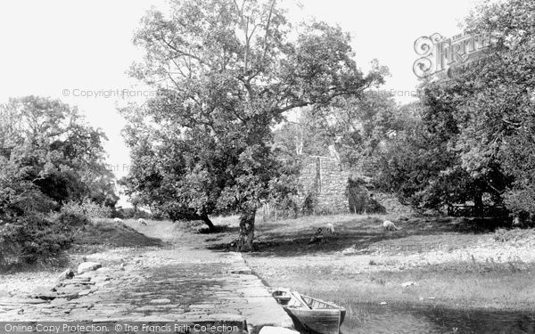 Photo of Innisfallen, From Landing Place 1898