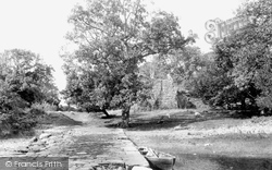 Innisfallen, From Landing Place 1898
