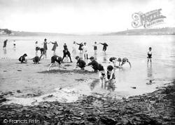 Children On The Beach 1919, Instow