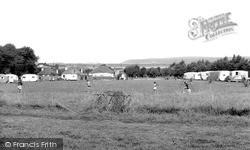 Lagoon View Caravan Camp, Yelland c.1960, Instow