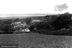 View Over Village 1919, Instow