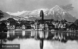 From The Lake c.1930, Interlaken