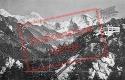 Heimwehfluh, Eiger, Monch And Jungfrau c.1930, Interlaken