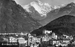 The Jungfrau c.1930, Interlaken