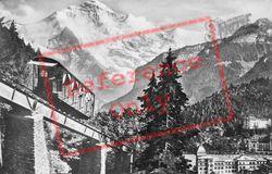 The Railway c.1930, Interlaken