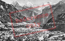 Wilderswil, Eiger, Monch And Jungfrau c.1930, Interlaken