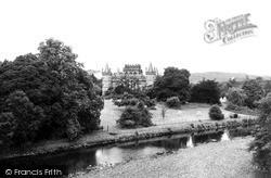 Inveraray, Castle c.1955
