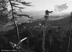 Castle From Dun Na Cuaiche c.1950, Inveraray