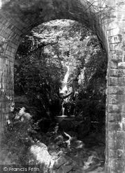 Inveraray, Falls Of Cruachan c.1955
