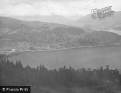 Inveraray, From Dun Na Cuaiche c.1950