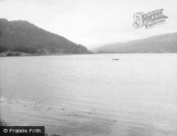 Inveraray, Loch Shira And Bridge c.1950