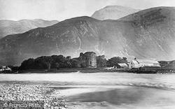 Inverlochy, Castle And Ben Nevis c.1880