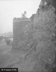 Castle, Comyn Tower 1949, Inverlochy
