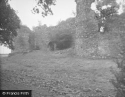 Inverlochy, Castle From East 1949
