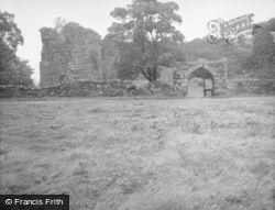 Inverlochy, Castle, Outer Gateway 1949