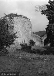Inverlochy, Castle Ruins 1952