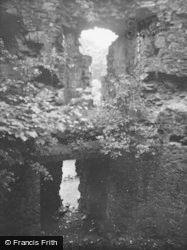 Castle, Wall Detail 1949, Inverlochy