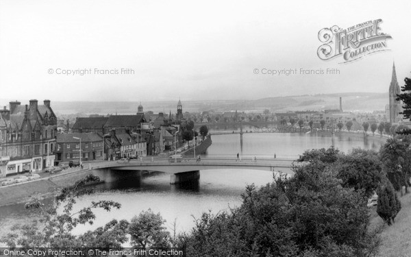 Photo of Inverness, The Bridge And The Ness c.1965
