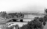 Inverness, the Bridge and the Ness c1965