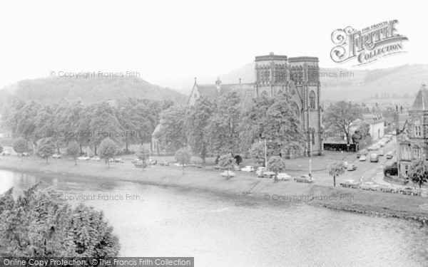 Inverness, the Ness and the Cathedral c1965