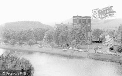 The Ness And The Cathedral c.1965, Inverness