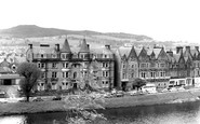 Inverness, the Palace Hotel and the Columba Hotel c1965