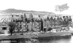 The Palace Hotel And The Columba Hotel c.1965, Inverness