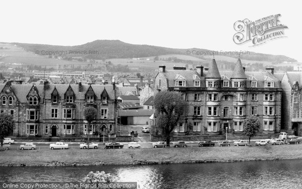 Inverness, view across the Ness c1965