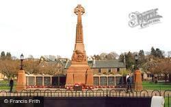Inverness, War Memorial, Cavell Gardens 2005