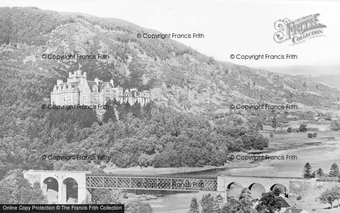 Photo of Invershin, Bridge And Carbisdale Castle c.1939