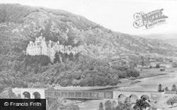 Bridge And Carbisdale Castle c.1939, Invershin