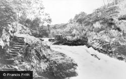 The Falls Of Shin c.1939, Invershin
