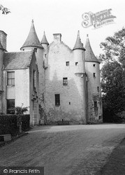 Inverurie, Pitcaple Castle 1950