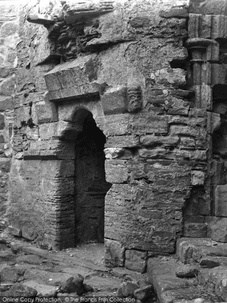 Photo of Iona, Abbey, Doorway In Cloisters 1958