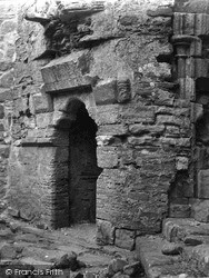 Iona, Abbey, Doorway In Cloisters 1958