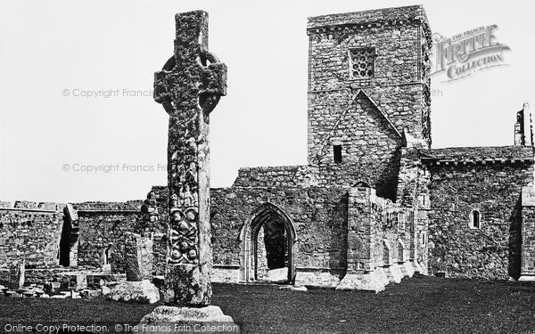 Photo of Iona, Abbey, West Front 1903