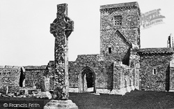 Iona, Abbey, West Front 1903