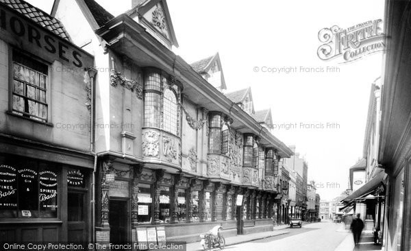 Photo of Ipswich, Ancient House 1921