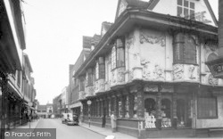 Butter Market And Ancient House c.1955, Ipswich