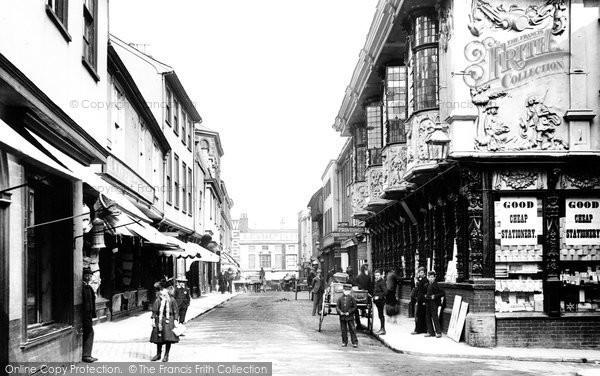 Ipswich, Buttermarket 1893