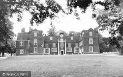 Christchurch Mansion, Christchurch Park c.1955, Ipswich