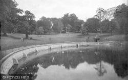 Christchurch Park, Round Pond 1921, Ipswich