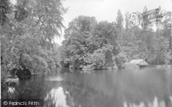 Ipswich, Christchurch Park, Wilderness Lake 1921