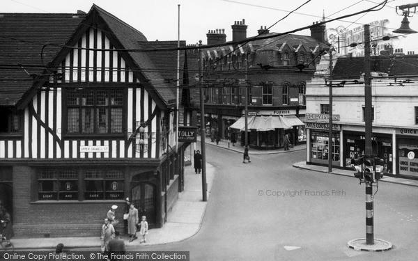Ipswich, Major's Corner c1955