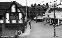Major's Corner c.1955, Ipswich