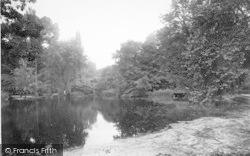 Ipswich, Park, Wilderness Pond 1921