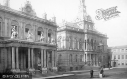 Post Office And Town Hall 1893, Ipswich