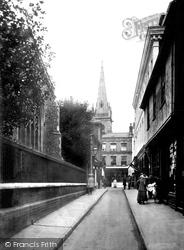 St Lawrence Street 1921, Ipswich