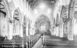 Ipswich, St Margaret's Church Interior 1893